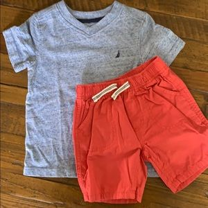 Toddler boys Nautica set